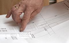 Prüfen eines Konstruktionsplans