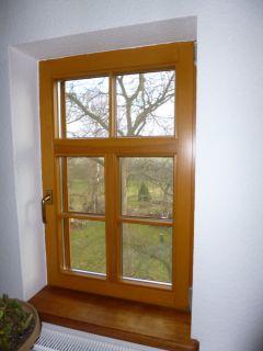 1flg. Isolierglasfenster mit T-Sprossung, 3flüglige Optik