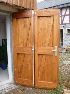 Garagentor Holz referenzen - holz am bau tischlerei bernd reichel