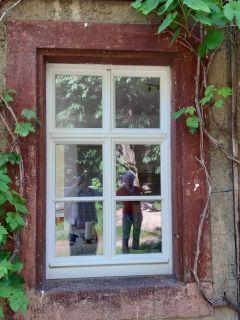 Fenster 1flg. mit vierflügliger Optik