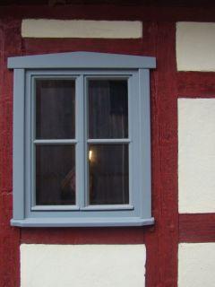 Fenster 2flg. mit Fachwerkanschluss