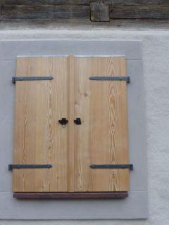 Fensterladen - Brettladen mit Langbändern