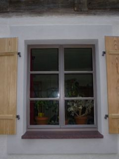 Fensterladen - Brettladen mit Querriegel