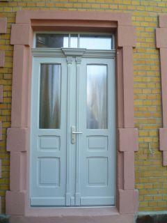 Haustür, 2flg. mit Oberlicht