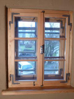 Kastenfenster, zweiflüglig; Innenseite Isolierglas