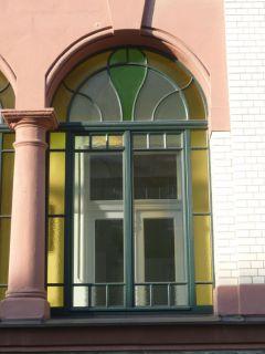 Nachbau eines Jugendstil-Fensters